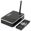 AGPtek - Remote USB Wireless 4 Channel Security Camera DVR Receiver Motion Detect QUAD Display
