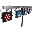Chauvet Lighting - 4BAR Tri wash lighting solution DJ Lighting System