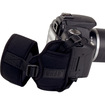 USA Gear - DSLR SLR Adjustable Neoprene Wrist Strap & Hand Grip-Works w/Canon , Nikon , Sony , Pentax & More - Black - Black