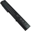 AGPtek - Laptop Battery For HP Compaq 8530p 8530w 8540p 8540w 8730p 8730w 8740w - Black