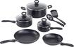 WearEver - Comfort Grip Cookware Set - Black