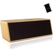 GOgroove - BlueSYNC MCX Wireless Bluetooth Home Theater Speaker w/Wooden Housing + Accessory Bag - Multi