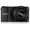 Samsung - 20.3 Megapixel Mirrorless Camera (Body with Lens Kit) - 20 mm-50 mm and 50 mm-200 mm Lens - Black