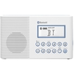 Sangean - FM / AM Bluetooth Waterproof Shower Radio - White