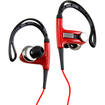 DrHotDeal - Sports Hook Running Earphones High Quality Stereo Earphones Headset for PC MP3 MP4 iPod - Red