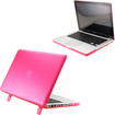 DrHotDeal - Hard PC Case Cover for MacBook Pro 13 13.3 Inches A1278 - Transparent Pink - Transparent Pink