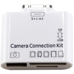 DrHotDeal - New 5-in-1 Card Adapter for Apple iPad 3 & 2 Camera Connection Kit USB TF SD MS