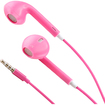 DrHotDeal - Earphone Earbud w/ Mic Volume Remote for iPhone 5 4S iPad iPod Touch Nano - Pink - Pink