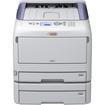 Oki - C800 LED Printer - Color - 1200 x 600 dpi Print - Plain Paper Print - Desktop - White