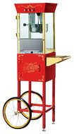 Great Northern Popcorn - Matinee Movie Popper Popcorn Maker - Red