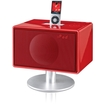 Geneva Lab - Model S Wireless Bluetooth All-In-One Music System - Red