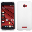 Insten - Solid Skin Cover For HTC Droid DNA - Solid White