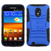 BasAcc - Stand Case For Samsung D710 Epic 4G Touch Galaxy S2 - Blue/Black Armor - Blue/Black Armor