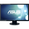 "Asus - 24"" Widescreen Flat-Panel LED-LCD HD Monitor - Black"
