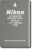 Nikon - Replacement Lithium-Ion Battery for Select Nikon Digital SLR Cameras