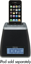 iHome - Spacesaver Alarm Clock for Apple® iPod® and iPhone®