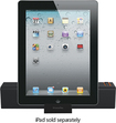 XtremeMac - Travel Dock for Apple® iPod®/iPhone®/ iPad®/Most MP3 Players - Black