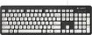 Logitech - K310 Washable USB Keyboard - White