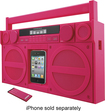 iHome - Home Audio Speaker System - iPod Supported - Pink