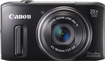 Canon - PowerShot SX260 HS 12.1-Megapixel Digital Camera - Black
