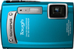 Olympus - Tough 14 Megapixel Compact Camera - Blue