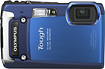 Olympus - Tough TG-820 iHS 12.0-Megapixel Digital Camera - Blue