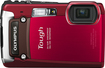 Olympus - Tough TG-820 iHS 12.0-Megapixel Digital Camera - Red