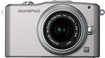 Olympus - PEN Series E-PM1 12.3-Megapixel Digital Compact System Camera with 14-42mm Lens - Silver