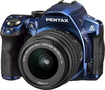 PENTAX - K-30 16.3-Megapixel DSLR Camera with 18-55mm Lens - Blue
