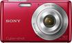 Sony - DSCW620/R 14.1-Megapixel Digital Camera - Red