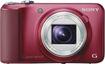 Sony - Cyber-shot DSC-H90 16.1-Megapixel Digital Camera - Red