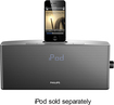 Philips - Docking Clock Radio for Apple® iPod® and iPhone®