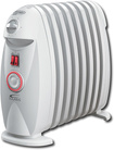 DeLonghi - Safeheat Oil Radiator - White