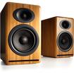 Audioengine - P4 Passive Bookshelf Speakers, Bamboo