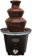 Nostalgia Electrics - Mini Chocolate Fondue Fountain - Black