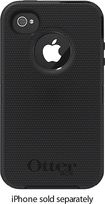 OtterBox - Defender Series Case for Apple® iPhone® 4S - Black