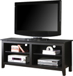 """Walker Edison - TV Stand for Flat-Panel TVs Up to 60"""" - Black"""