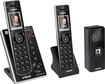 VTech - DECT 6.0 Expandable Cordless Phone System with Digital Answering System - Black