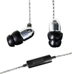MEElectronics - M9P Earbud Headphones - Silver