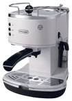 DeLonghi - 15-Bar Pump-Driven Espresso Maker - White