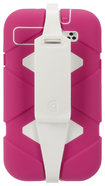 Griffin Technology - Survivor Extreme-Duty Case for Samsung Galaxy S III Mobile Phones - Honeysuckle/White