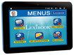 Lexibook - SERENITY 8 inch Tablet with 8GB Memory - Black/Blue - Black/Blue