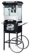 Great Northern Popcorn - Paducah Popcorn Maker with Cart - Black
