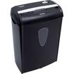 Aurora - Light Duty Shredder with Wastebasket - Black