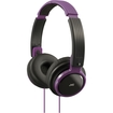JVC - Has200V Riptidz Portable On-Ear Headband Headphones - Black, Violet