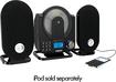 GPX - GPX HC208B Home Music System - CD Player - Black