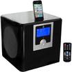Pyle - Desktop Clock Radio - Stereo - Apple Dock Interface - Proprietary Interface