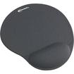 Innovera - Mouse Pad w/Gel Wrist Pad, Nonskid Base, 10-3/8 x 8-7/8 - Gray - Gray