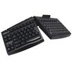 Goldtouch - Ergonomic Smart Card Keyboard USB by Ergoguys - Black