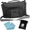 "USA Gear - Portable 8.9"" and 10.1"" Netbook Case for Msi Wind U100 / U120 / U123 / U90 Flexwall Design - Black"